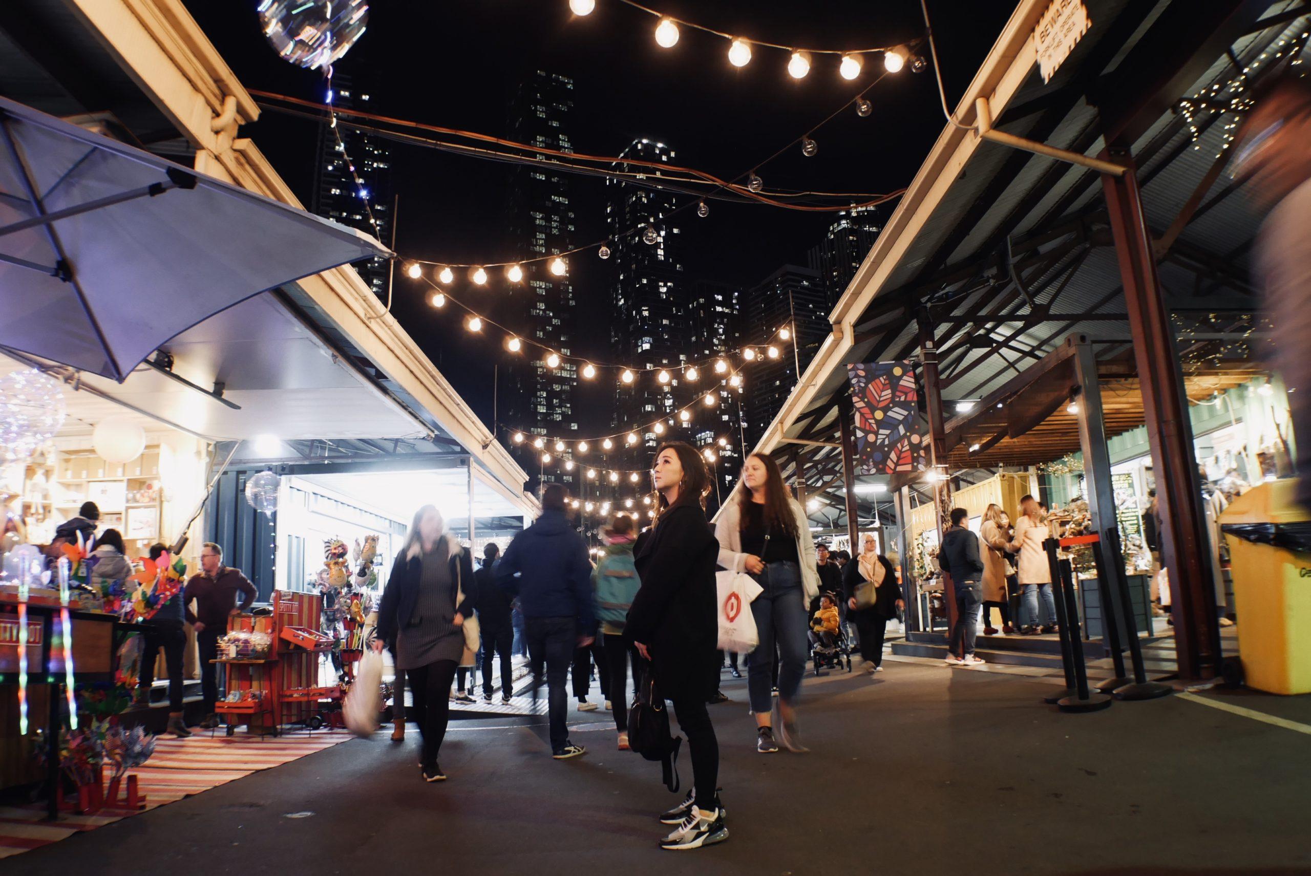 澳洲墨爾本|市區 維多利亞女王市場必吃外帶餐飲及咖啡、冬日夜市彙整