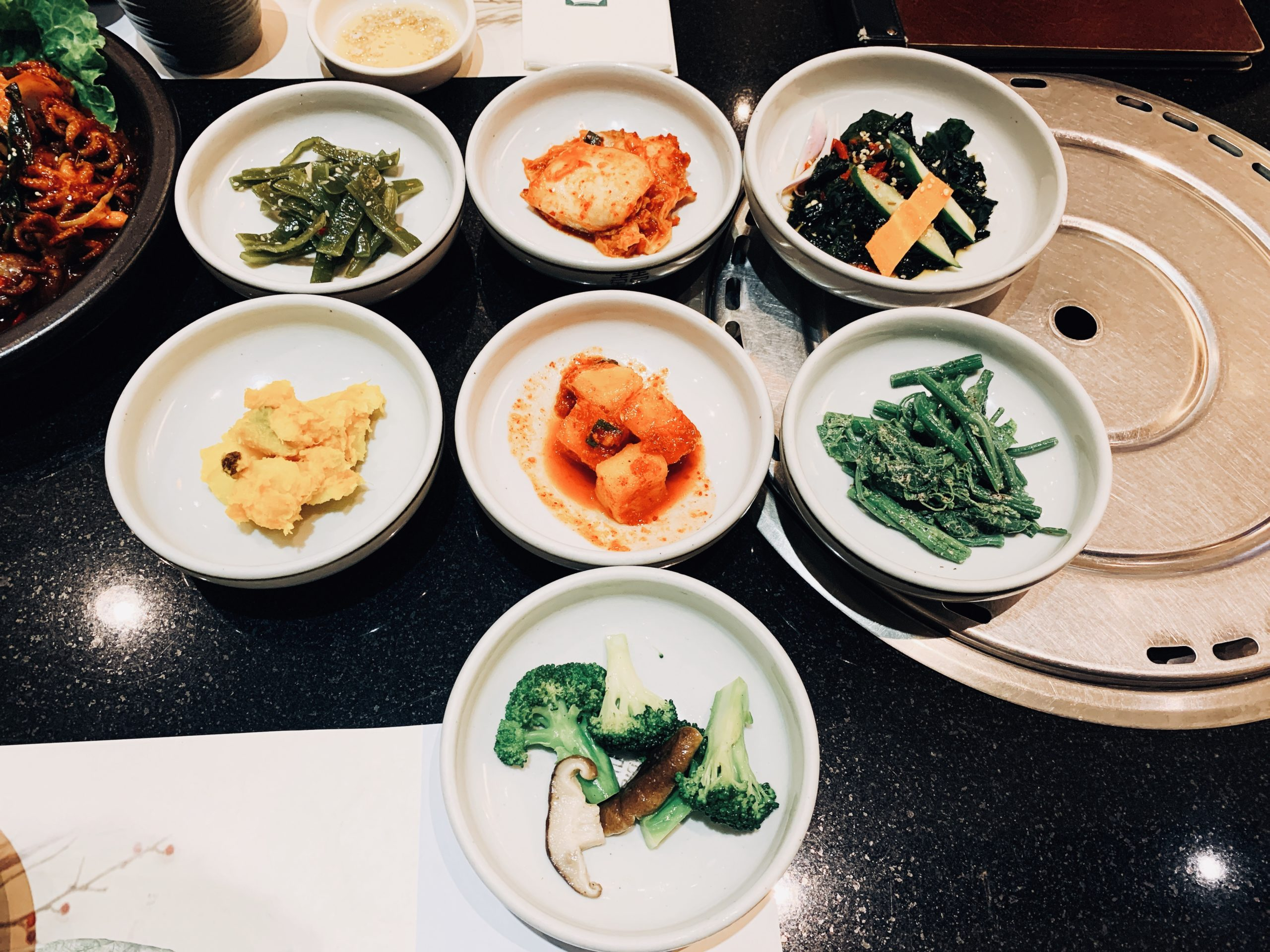 台北內湖區|三元花園韓式餐廳 瑞光店 韓式料理8種小菜吃到飽