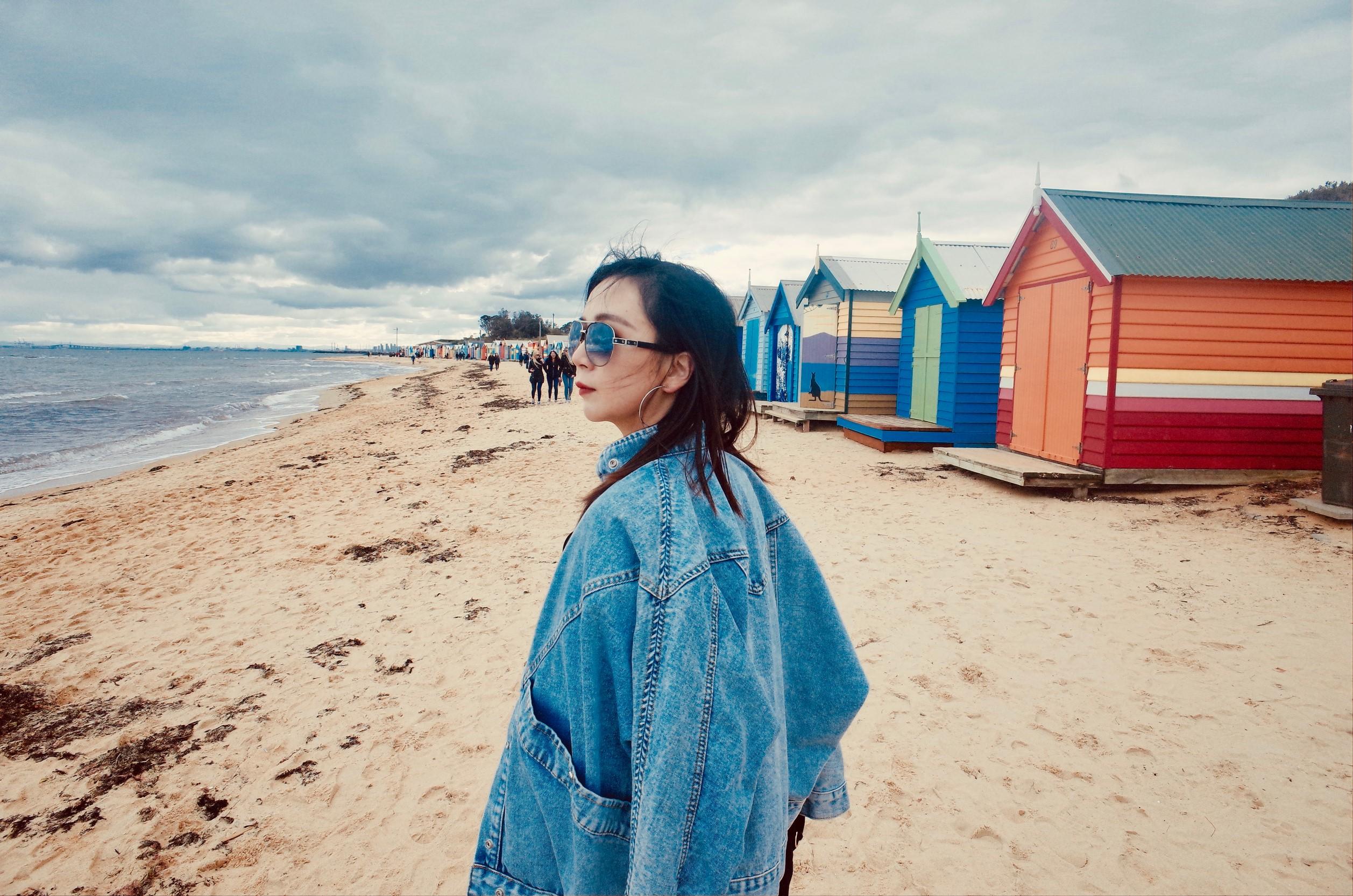 澳洲墨爾本|布萊頓海灘彩虹小屋及周邊飲食-Mylk Café