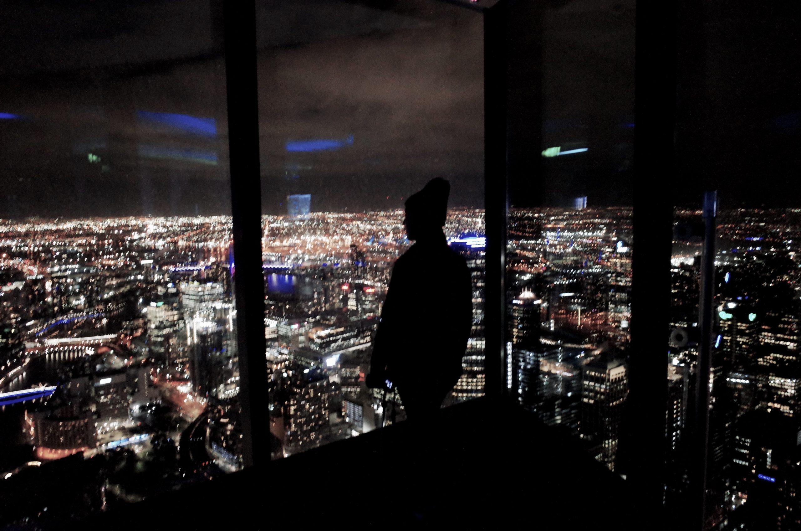 澳洲墨爾本|市區 百萬夜景發現大樓-尤利卡天台(Eureka Skydeck 88)