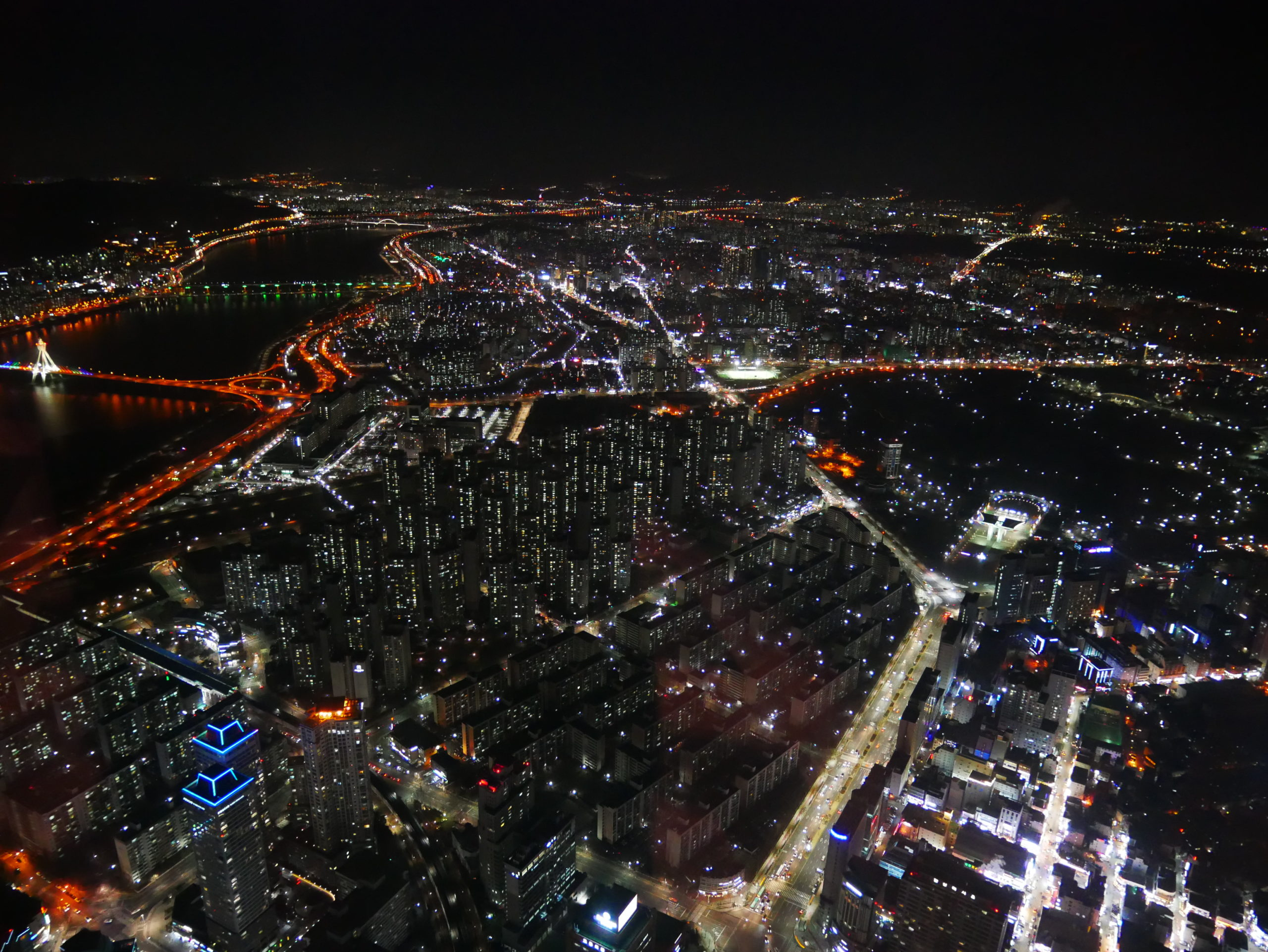 韓國首爾|樂天世界大樓 Lette World Tower 百萬級夜景