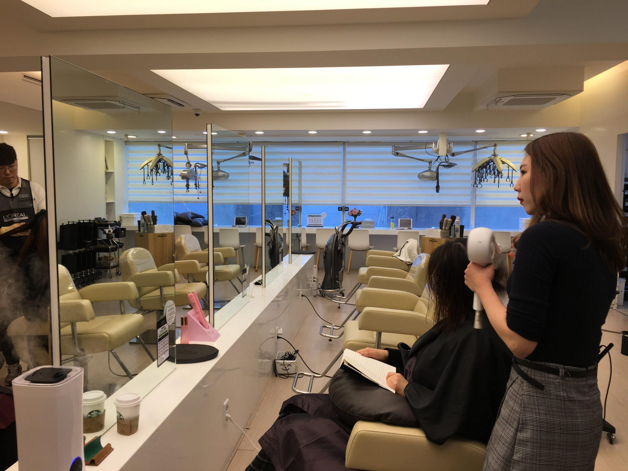 韓國首爾|韓流美髮體驗 Gaggum Hair Dream 明洞店 旅行的尾聲就用韓式美髮沙龍的服務體驗